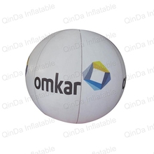 цены  3m Dia White Balloons Floating Inflatable Helium Balloon For Advertisement With Logo For Exhibition Promotion