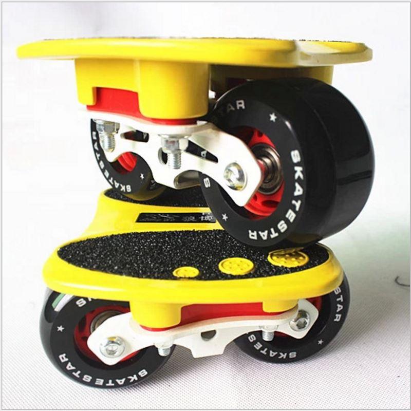 LangBo 10 génération patins à roues libres Anti-choc pad dérive planche gommage alliage d'aluminium Patines 2 roues planche à roulettes FreeStyle - 5