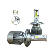 2Pcs H7 Car LED Headlight Bulbs DC 9-32V Auto Headlight Lamp Fog Light Bulb White 6000K Car Headlamp Bulb Beam Low Combo