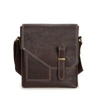 Genuine Leather Messenger Bag 2019 Men Business Briefcase Hand Bag Men's Shoulder Crossbody Bag Vintage Male Travel Casual Totes