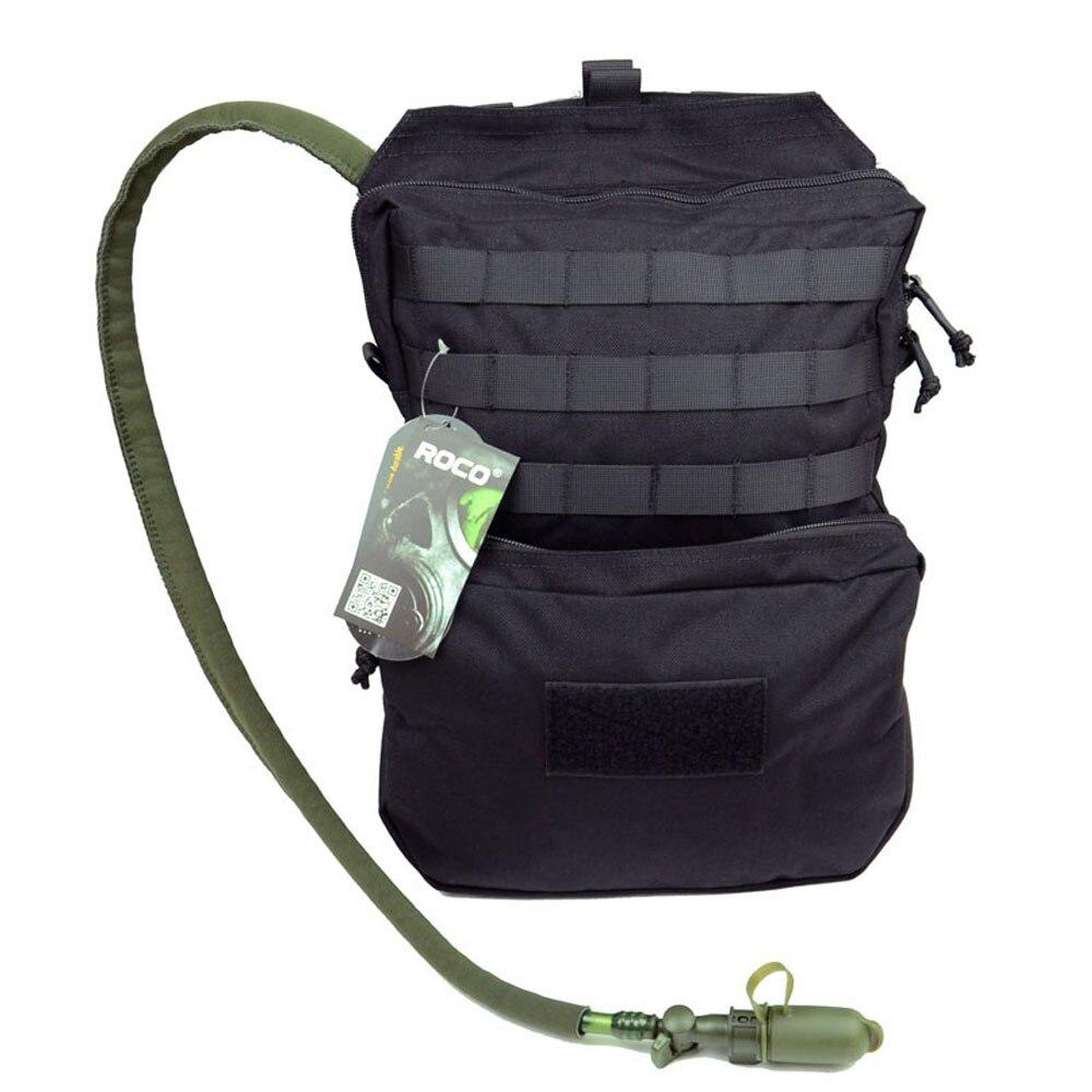 Sac à dos tactique rocotactique sac à dos sac d'hydratation militaire Molle pour vessie 3L (exclu) pour la randonnée