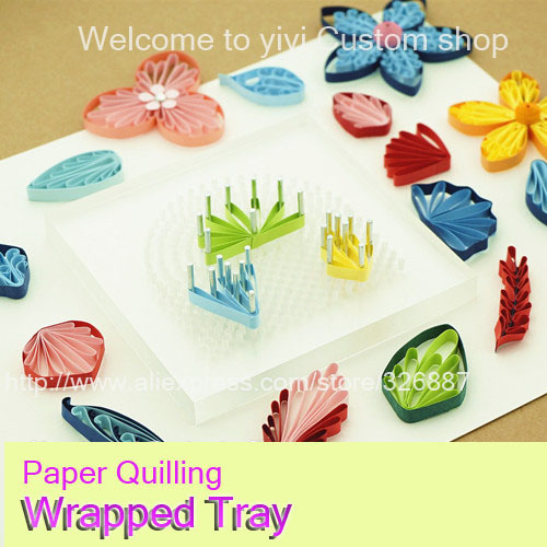 Handmade Paper Quilling Tools Creations Wrapped Trayneedle Tool