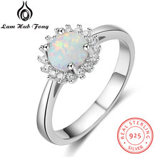 aa097c1da91c0 Popular Real 925 Sterling Silver Opal Ring-Buy Cheap Real 925 ...