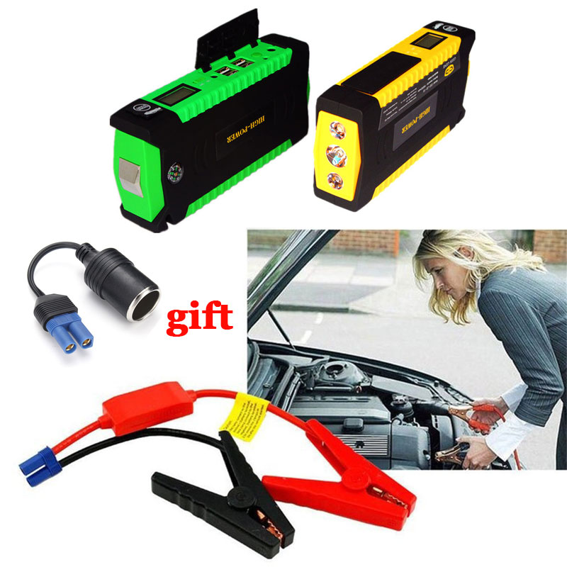 все цены на New Car Jump Starter Charger For Car Battery Booster Buster Starting Device Petrol Diesel 12V 600A Pack Power Bank Portable