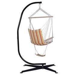 Solide Stahl C Hängematte Rahmen Stehen für Air Stuhl Hohe Qualität Innen Schaukel Terrasse Möbel Einzel-person Hängematte OP2646