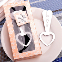 Free Shipping 100pcs/lot Love Heart Beer Bottle Opener Wedding Party Favors Significant Gift Wedding Favor Gifts Wholesale