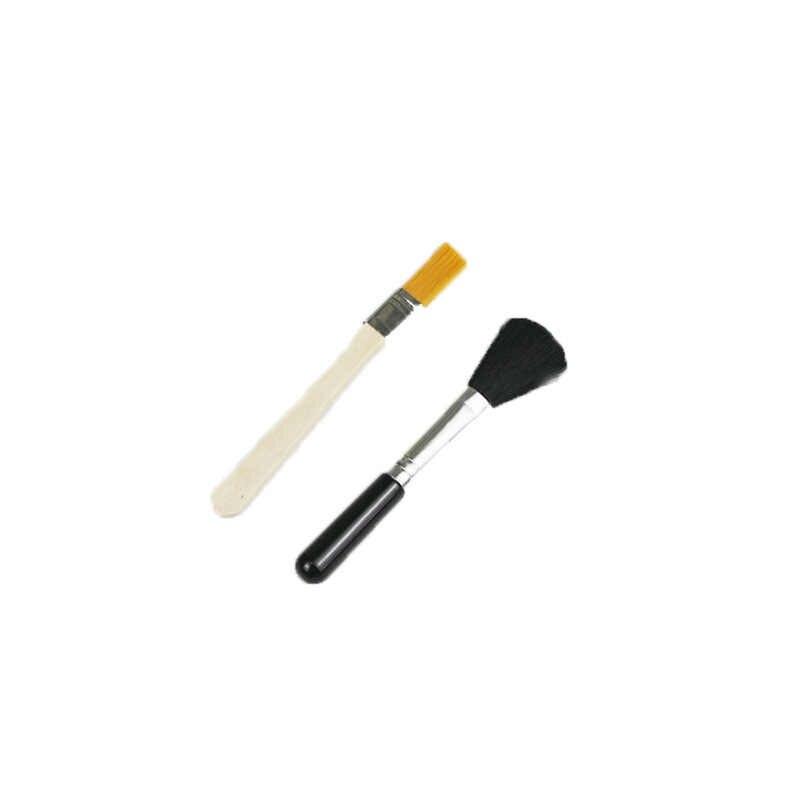 Yeni stil Yumuşak saç klavye ekran çatlak toz Temizleme Fırçası Basit Taşınabilir faydalı küçük Ev Temizleme Araçları