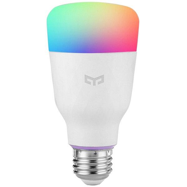 YEELIGHT 10W RGB E27 and E26 Wireless WiFi Control Smart Light Bulb Lamp Voice control 110 240V Remote Control Light Bulb