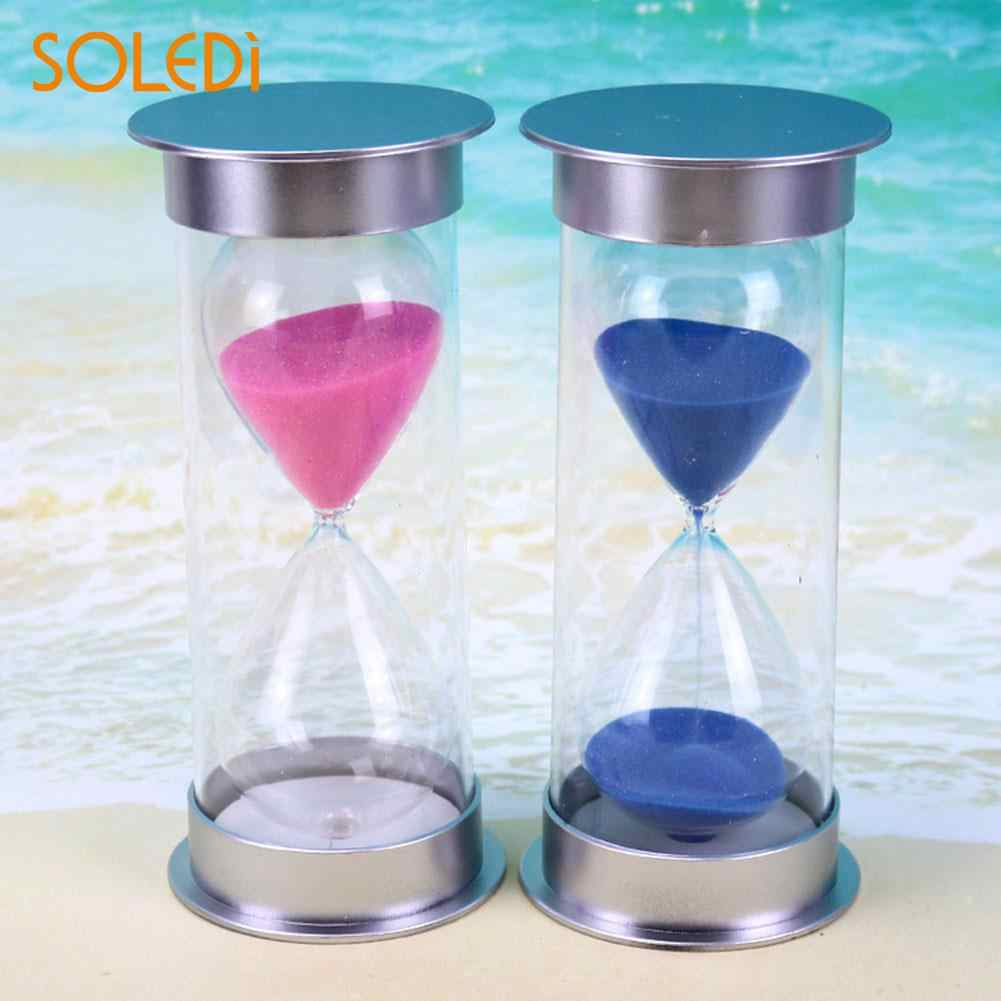 20 Minutes Hourglass Timer Cooking Sand Clock Timer Decor Gifts Purple/Pink/Blue Colorful Hourglass Sandglass Sand Clock Timers