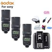 Godox TT600s Камера Вспышка Speedlite 2,4G Беспроводной ведомый X1T-S HSS ttl для sony a6000 a7 II III a58 a6500 a6300 a37
