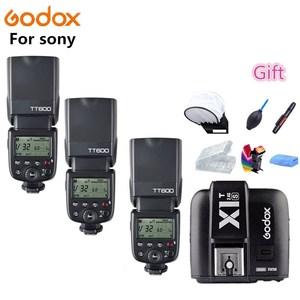 Godox TT600s Camera Flash Speedlite 2.4G Wireless Master Slave X1T-S HSS TTL for Sony a6000 a7 II III a58 a6500 a6300 a37(China)