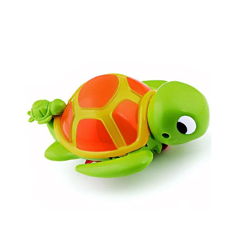 Shower Toys Big Turtle With Little Turtle Swimming Turtle Pool Toy For Baby Children Kids Bath Toys Time Killer Plastic Play Set
