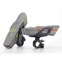 Darmowa Wysyłka AV126B mountain bike audio muzyka głośnomówiący bluetooth głośnik zewnętrzny z light bike FM radio MP3 honking