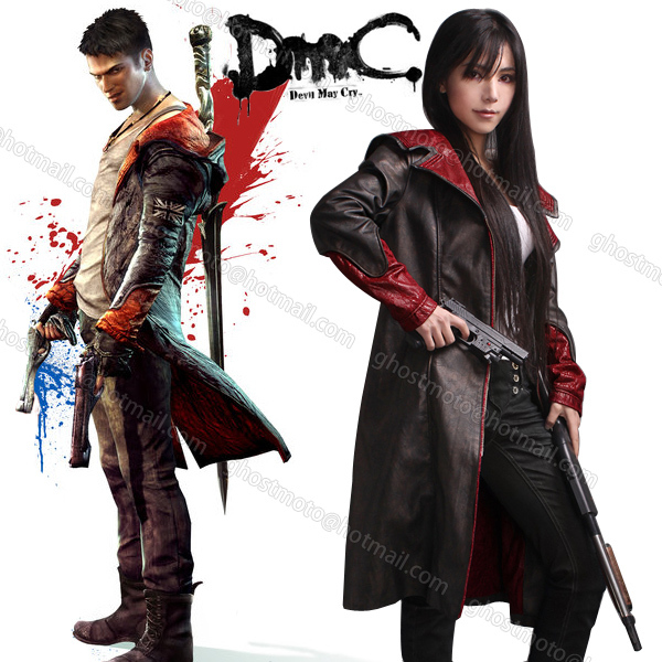 New Devil May Cry 5 Dante Pleather cosplay Windcoat Costume Game Jacket for  Men and Women-in Men's Costumes from Novelty & Special Use on  Aliexpress.com ...