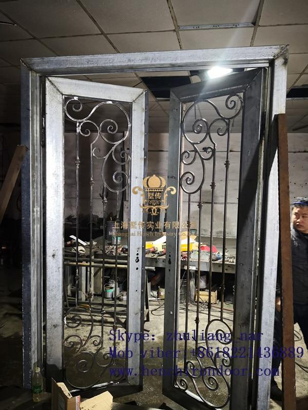 Whole Sale Best Iron Doors Iron Double Doors Iron Doors Best Price For Sale  Hc-4