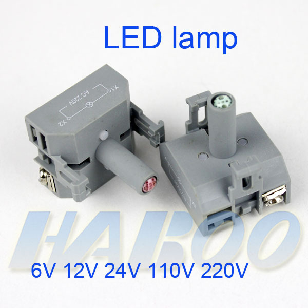 HABOO H22/25, J22,I22, series LED lamp 6V 12V 24V 110V 220V
