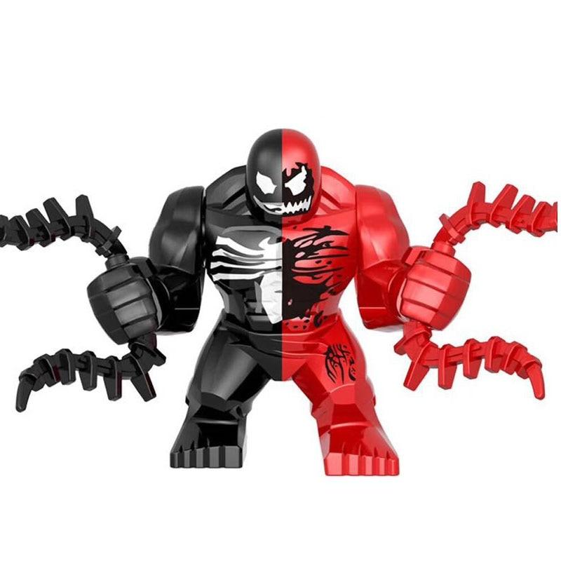 Newest Marvel Legoings Venom Carnage  Movie Figures Anti-venom Brick Building Blocks Toys For Children