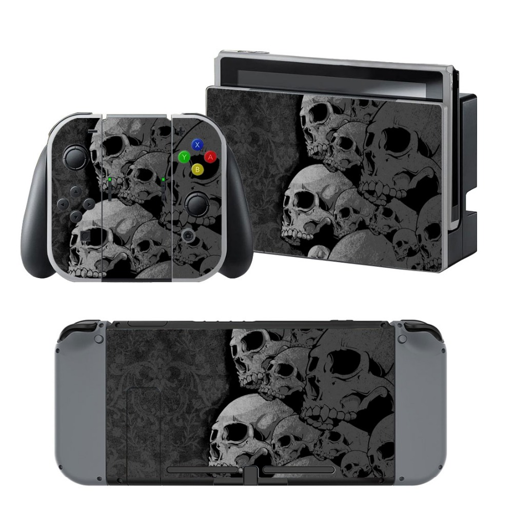 Newly Arrival Vinyl Skin Sticker for Nintendo Switch Console Protector Cover Decal Vinyl Skin for Skins Stickers 0085