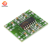 Mini placa amplificadora Digital PAM8403 3W * 2 Clase D Placa de amplificador de audio estéreo de doble canal 2,5-5 V USB eficiente(China)