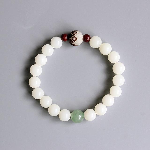 Zen Quartz Mala Bracelet