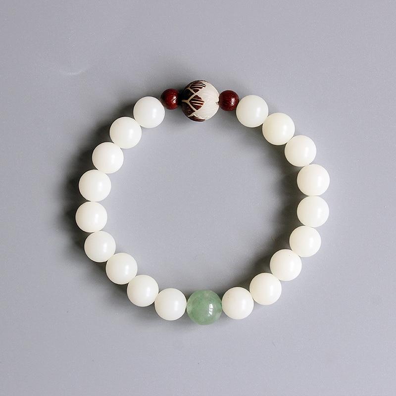 Großhandel zen buddhistischen gebet mala bodhi samen perlen armbänder für frauen yoga meditation handgelenk schmuck handgemachte weihnachtsgeschenke