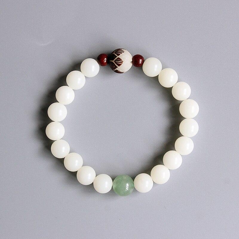 Prix pour Gros Zen Bouddhiste Mala Prière Bodhi Semences Perles Bracelets Pour Femmes Yoga de Méditation Bracelet Bijoux À La Main Cadeaux De Noël