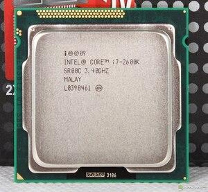 Image 2 - Intel Core i7 2600K 3.4GHz SR00C dört çekirdekli LGA 1155 CPU İşlemci