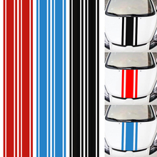 183x8CM PVC Material Stripe Pattern Creative Funny Car Sticker Accessories for Cars Hood car pattern pvc protective sticker set for xbox one green deep blue