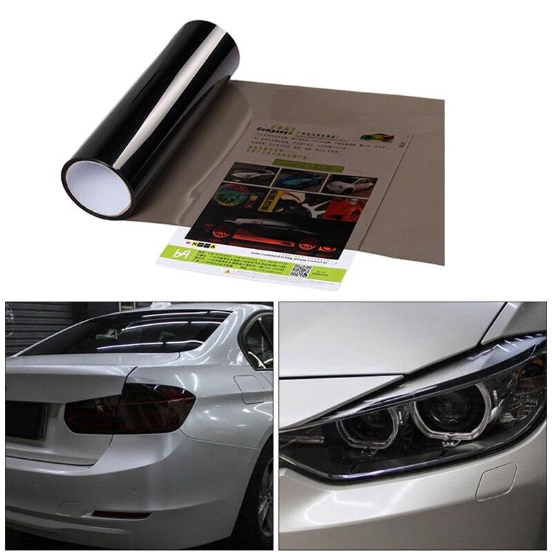 Автомобильный Стайлинг 30x100 см, автомобильный светильник, задний фонарь, защитная пленка на лампу, наклейка s, стоп-сигнал, светильник, аксесс...