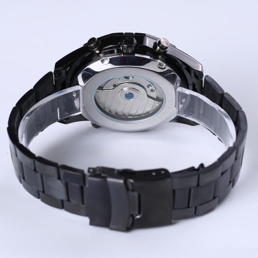 2018 Forsining Heren Horloges Topmerk Luxe Heren Tourbillon Horloge - Herenhorloges - Foto 4