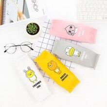 Получить скидку Творческий пенал мультфильм карандаш сумка школьные принадлежности студенты пенал каваи канцелярские подарок Estuches офисные милые ручки сумки