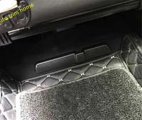 פלסטיק עבור פולקסווגן פולקסווגן Tiguan 2016 2017 2018 מושב כיסא מתחת מקשטים כיסוי Trim דפוס לשקע אוורור מיזוג אוויר AC 2 יחידות