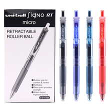 12pcs/Box Uniball UMN 105 Signo Gel Pen Set Retractable 0.5mm Smooth Ink Boligrafo Fine Gel Rollerball Pen School Supplies
