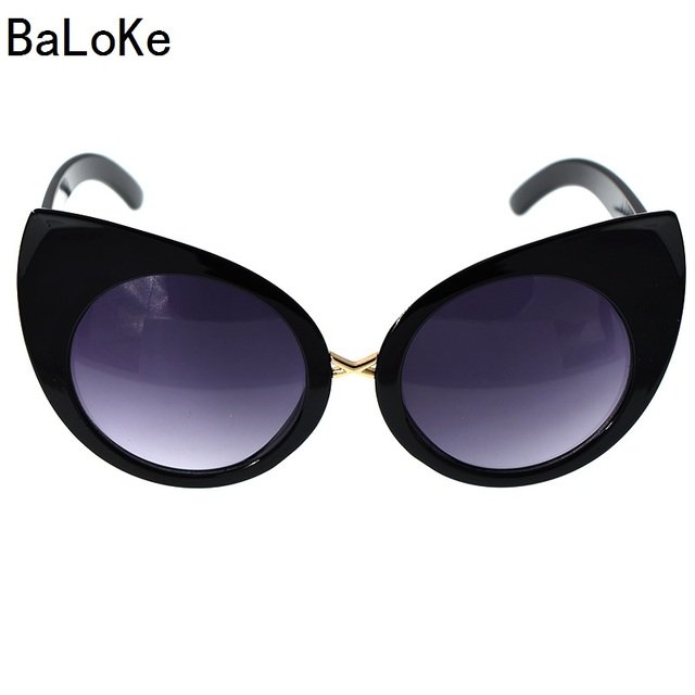 a4c98edbf6b 2018 Baroque Vintage Cateye Sunglasses Women Cat Eye Brand Designer Women  Sunglasses Polarized Stunner Shades Fashion Party Gif