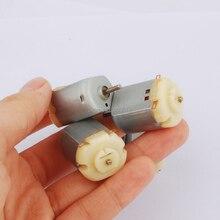 10 шт. топ MABUCHI стандарт 130 мотор щетка иглы микро двигатель постоянного тока, DC3V-6V игрушка мотор