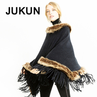 Women's scarf solid faux wool shawl winter scarves women fur collar scarves for ladies ponchos +capes 105*90cm