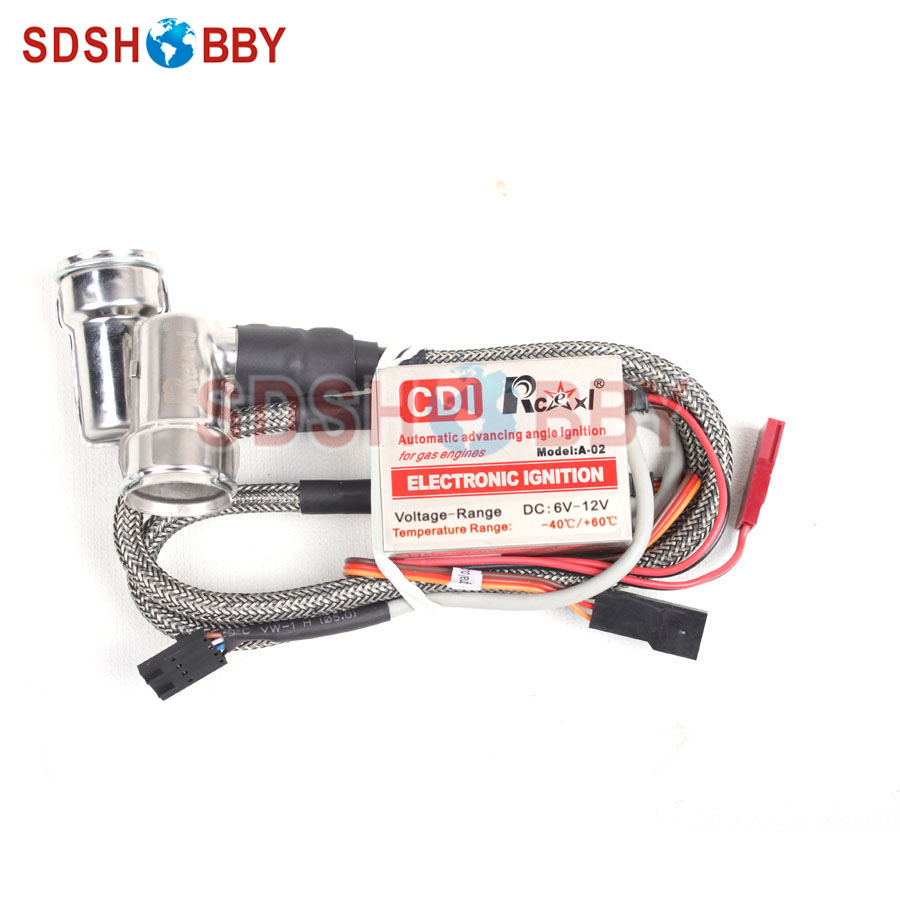 Rcexl LV Type Twin Ignition for NGK-BMR6A 90 Degree(A-02 4.8V~8.4V 622a) ngk br8hs