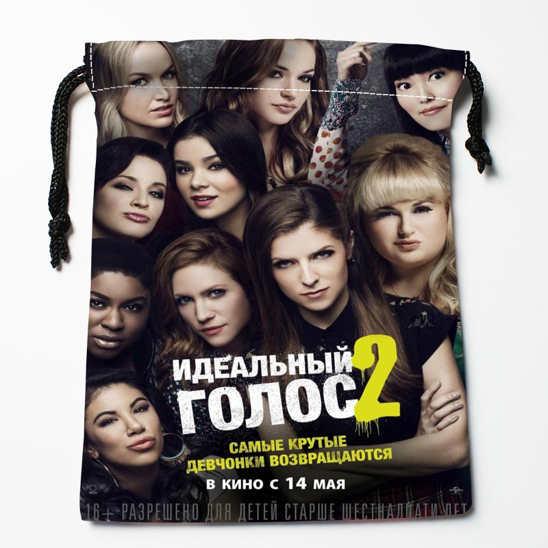 New Custom Pitch Perfect Drawstring Bags Custom Storage Bags Storage Printed Gift Bags More Size 27x35cm Compression Type Bags