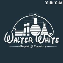 breaking bad respect the chemistry men t-shirt short sleeve 100% 180g/m2 ringspun cotton unisex straight cut free shipping