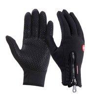 Hoge Kwaliteit Mannen Vrouwen Winter Anti-slip Waterdichte Fleece Touchscreen Handschoenen Outdoor Sport Fietsen Werken Thermische Gereedschap