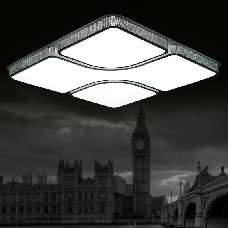 buy modern ceiling light lamparas de techo plafoniere lampara techo salon bedroom light for home led ceiling lamp dcor lantern from