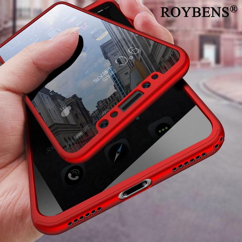 Roybens Роскошный телефон чехол для iPhone X 10 ультра тонкий чехол для Apple IPhone X 10 кожи жесткий PC Coque Fundas В виде ракушки