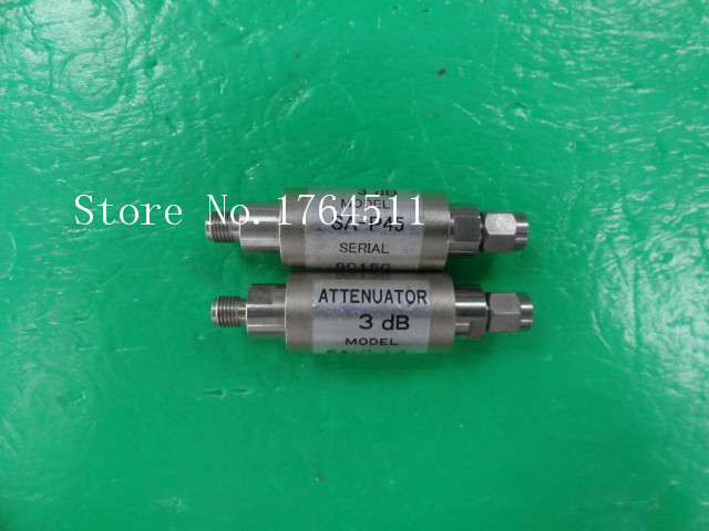 [BELLA] SANKEN SA-P45 DC-12GHz 3dB 2W SMA RF Coaxial Fixed Attenuator  --5PCS/LOT