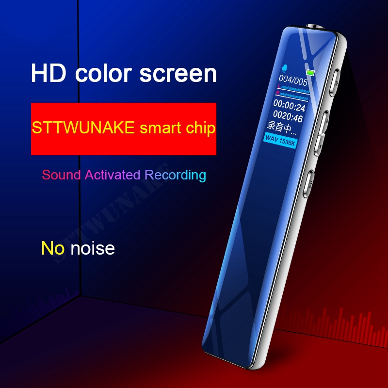 STTWUNAKE voice recorder Dictaphone mini sound pen professional micro digital audio recorders activated record MP3