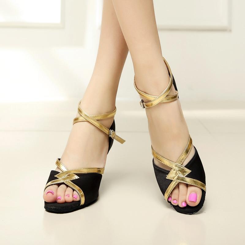 women Latin dance shoes new brand girls women's Ladie's latin ballroom tango salsa dance shoes