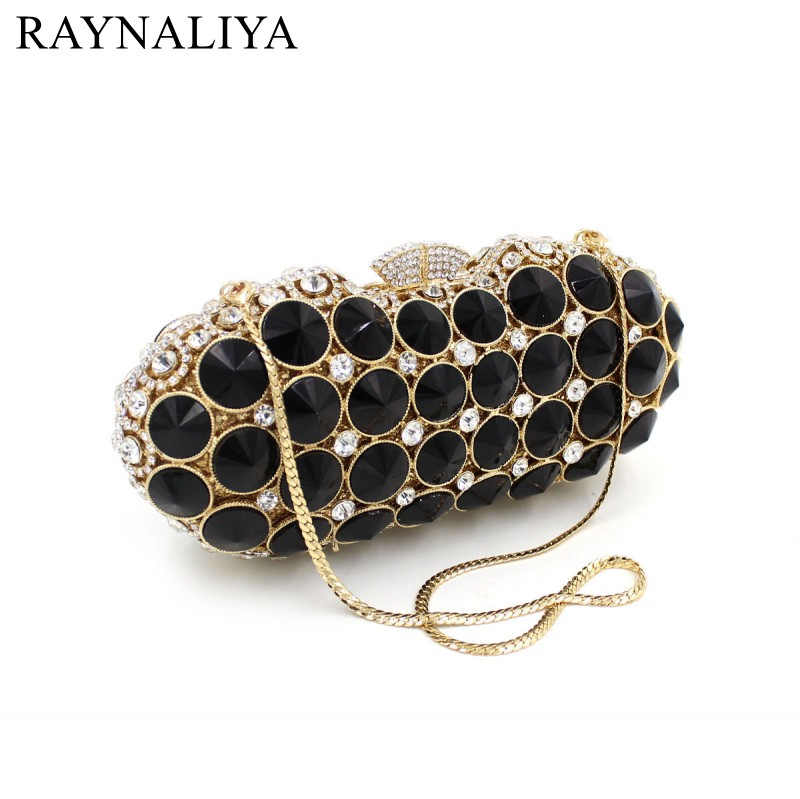 New Black Crystal Big And Small Silver Daimond Party Bags Wedding Purse Mini Evening Handbags Prom With Chain SMYZH-F0130 антенна daimond srh 805s