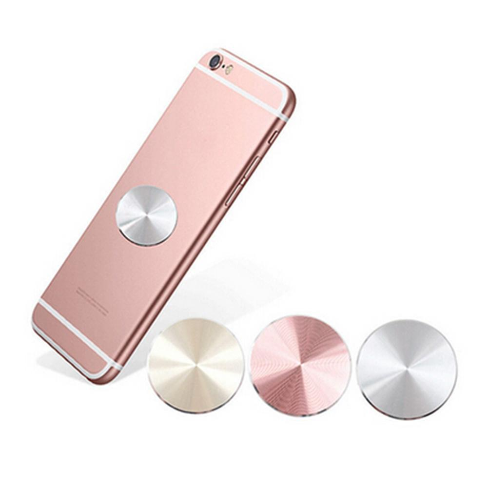 Universal Metal <font><b>Plate</b></font> <font><b>Magnetic</b></font> Car <font><b>Phone</b></font> <font><b>Holder</b></font> 33*33mm Iron Sheets For Magnet <font><b>Phone</b></font> Support Accessories Stand Matte Stainless