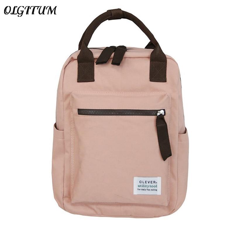 Borsa Di Tela Di Studenti Schoolbags Leisure Travel Bag