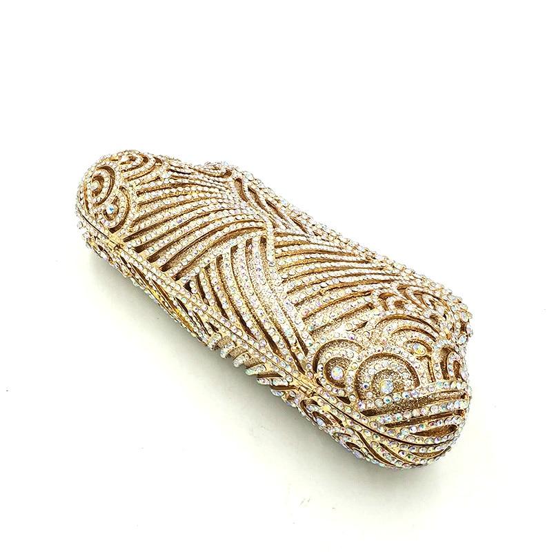 Petit Nigeria Portefeuille Cristal Noce Femmes En Sac Luxe Nuptiale De Embrayages Soirée Diamants send Pictures Ab Color À Sacs Gold 1 Main 67ZxBW