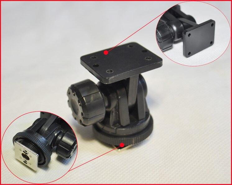 Flash Hot shoe mount adapter Adjustable angle pole FOR DSLR Flash light LED light cn126 cn160 CN70 LED CN-LUX1000 CN-LUX1500